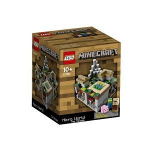 レゴ クーソー 21105 Minecraft Micro World -The Village|miraiya05