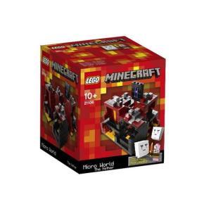 レゴ クーソー 21106 Minecraft Micro World -The Nether|miraiya05