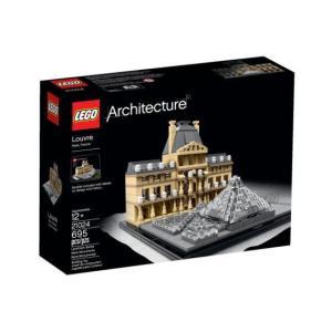 レゴ アーキテクチャー 21024 ルーブル美術館|miraiya05