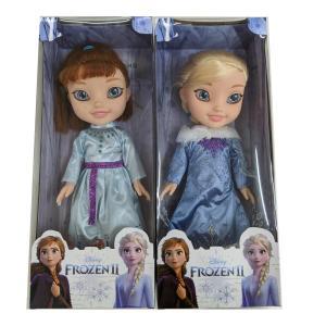 ディズニー アナと雪の女王 2体セット BIGフィギア エルサ アナ雪 フィギア 人形  FROZENII フローズン2【エルサとアナの2体セット】