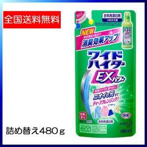 ワイドハイターEXパワー 詰め替え 480ml  衣料用漂白剤 花王 ポイント消化 500