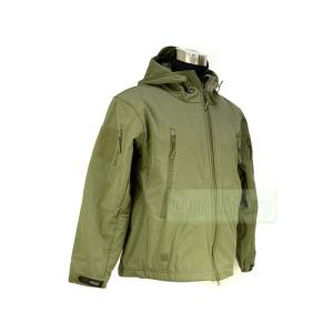 PMCスタイルの装備や冬場の防寒具として非常に有用な、軽量且つ防風性が高いジャケットです。内側にフリ...