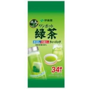 <title>伊藤園 ワンポット抹茶入り緑茶 ティーバッグ 34袋 営業</title>