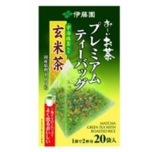 <title>倉 お〜いお茶 プレミアムティーバッグ 宇治抹茶入り玄米茶 20袋</title>