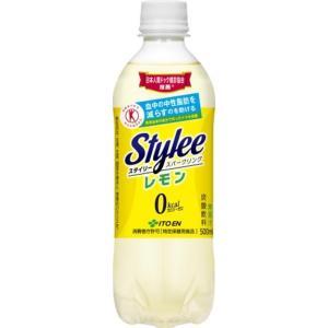 激安通販 伊藤園 Stylee ランキングTOP10 スタイリー 500ml×24本 スパークリングレモン