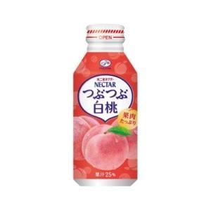 <title>伊藤園 不二家 ネクター つぶつぶ白桃 卓越 ボトル缶380g×24本</title>