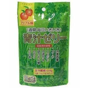 <title>新日配薬品 青汁ゼリー 迅速な対応で商品をお届け致します 10g×7包 2個セット</title>