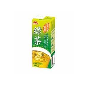 最安値 やすらぎ茶房 緑茶 爆安プライス AB200mlスリム ×24本 1ケース