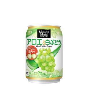 市場 激安卸販売新品 ミニッツメイドアロエamp;白ぶどう 280g缶×24本×2ケース