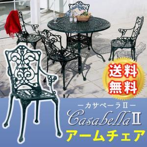 ガーデンチェア ガーデンファニチャー アームチェア カサベーラ2 HC-900DGN mirror-eames