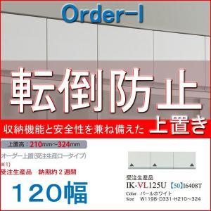 パモウナ 食器棚 耐震 パモウナ食器棚 上置き ロータイプ 120幅 VI-VL120U mirror-eames