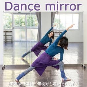 鏡 全身 ダンスミラー 全身鏡 細枠 キャスター 86幅 180高 連結 大型ミラー パーテーション 間仕切り|mirror-eames