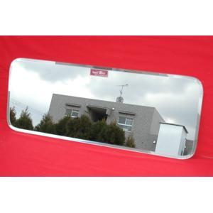 【トラック内装・室内用品】NEWスーパーミラー ミラーパーツでリアウインドウ(ベッド窓)を簡単ドレス...