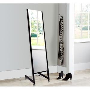 姿見 姿見鏡 キャスター付き 業務用 店舗用 国産 プロ仕様(スタンドミラー キャスター 姿見 スタンド  ファッションミラー)|mirrorshop
