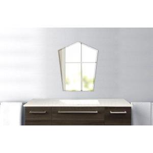 洗面鏡 化粧鏡 トイレ鏡 浴室鏡 クリスタルミラーシリーズ(ファンシー ブリット):クリアーミラー(通常の鏡) クリスタルカットタイプ  壁掛け鏡 mirrorshop