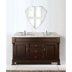 洗面鏡 化粧鏡 トイレ鏡 浴室鏡 クリスタルミラーシリーズ(シールド):クリアーミラー(通常の鏡) デラックスカットタイプ  壁掛け鏡|mirrorshop