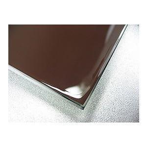 洗面 浴室 鏡ミラーのカット販売。クリアーミラー  通常の鏡 5mm厚 糸面取り加工:1219mmx457mm|mirrorshop|02