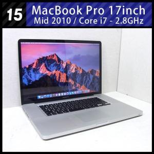 MacBook Pro 17インチ Mid 2010・Cor...