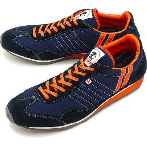 パトリック PATRICK スニーカー 靴 スタジアム NV/ORG 23952
