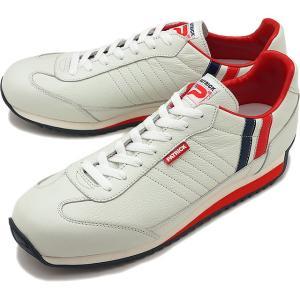 返品送料無料 パトリック スニーカー PATRICK 靴 マラソン レザー トリコロール 98800|ミスチーフ PayPayモール店