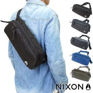 NIXON ニクソン ファウンテン スリング パック2 ヒップバッグ・斜め掛けショルダー  NC1957|mischief