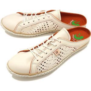 返品送料無料 SPINGLE MOVE スピングルムーブ SPM-721 レザークロッグサンダル 靴...