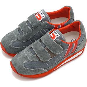 PATRICK パトリック キッズ スニーカー 靴 マラソン・ベルクロ GRY EN7524