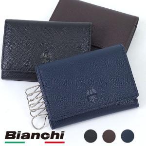 ビアンキ メンズ レディース Bianchi イタリアンレザー キーケース  小銭・パス付  BIA1002 SS16 mischief