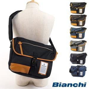 Bianchi ビアンキ バッグ NBTC-03 DUALTEX メンズ レディース ショルダーバッグ  ワンショルダー 斜め掛けショルダー mischief