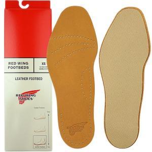レッドウィング レザー・フットベッド RED WING シューズアクセサリー 革製中敷き Leather Footbed REDWING 96356 FW16|ミスチーフ PayPayモール店