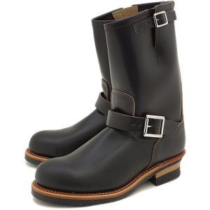 レッドウィング エンジニアブーツ REDWING ブーツ #9268 エンジニアブーツ 11インチ スチールトゥ Black Klondike