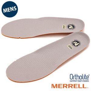 MERRELL メレル メンズ インソール 中敷き ORTHOLITE FOOTBET オーソライト インソール GRAY J1JOFM6MG|ミスチーフ PayPayモール店