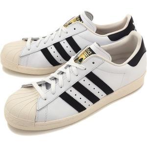 アディダス スーパースター 80s ホワイト/ブラック/チョ...