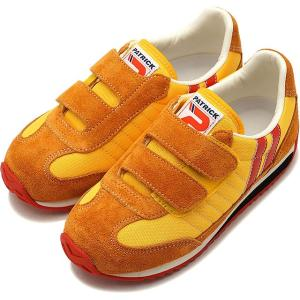 PATRICK パトリック スニーカー MARATHON-V マラソン・ベルクロ SSN キッズ 靴  EN7815 14〜18cm