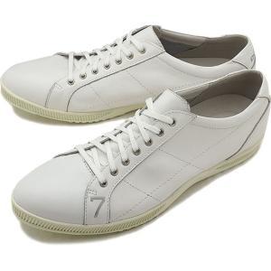 TOP SEVEN トップセブン TS-2101 レザースニーカー WHT 靴 シューズ  SS18