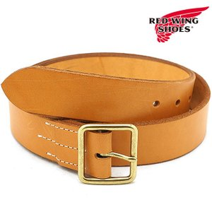 REDWING レッドウィング #96563 レザーベルト 40mm幅 Leather Belt メンズ Tan  96563 FW18|ミスチーフ PayPayモール店