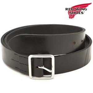REDWING レッドウィング #96564 レザーベルト 40mm幅 Leather Belt メンズ Black  96564 FW18|ミスチーフ PayPayモール店