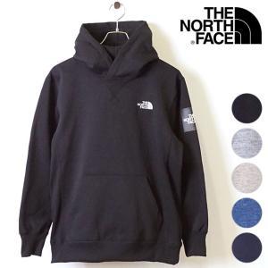 ザ・ノースフェイス THE NORTHFACE メンズ スクエアロゴフーディー Square Logo Hoodie 裏起毛 スウェットプルオーバーパーカー NT61835 FW19|mischief