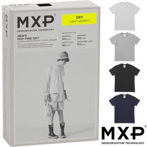 エムエックスピー MXP MENS メンズ Tシャツ ファインドライ ショートスリーブ ポケットクル...