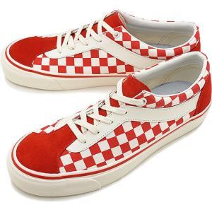 バンズ VANS チェッカーボード ボルド NI CHECKERBOARD BOLD NI メンズ ヴァンズ スニーカー 靴 RACING RED/MARSHMALLOW  VN0A3WLPT1E SS19 mischief