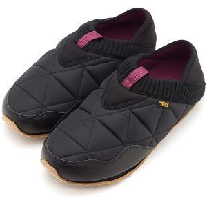 テバ Teva レディース エンバーモック W EMBER MOC キャンプモック キルティング スリッポン 靴 BLK ブラック系 1018225 FW19|mischief
