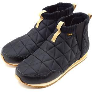 テバ Teva レディース エンバー ミッド W EMBER MID キャンプモック キルティング サイドゴア 靴 BLK ブラック系 1106209 FW19|mischief