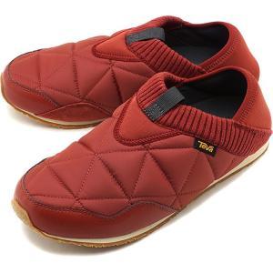 テバ Teva メンズ エンバーモック M EMBER MOC キャンプモック キルティング スリッポン 靴 FBRCK ブラウン系 1018226 FW19|mischief
