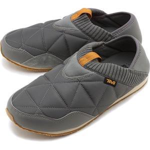 テバ Teva メンズ エンバーモック M EMBER MOC キャンプモック キルティング スリッポン 靴 CLGY グレー系 1018226 FW19|mischief