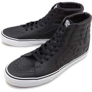 バンズ VANS スケートハイ エックスレイ ボーンズ SK8-HI X-RAY BONES メンズ レディース ヴァンズ スケハイ スニーカー 靴 BLACK ブラック系 VN0A4BV6V9J FW19 mischief