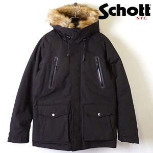 ショット Schott メンズ シュノーケル ダウンパーカー SNORKEL DOWN PARKA ...