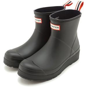 ハンター HUNTER レインブーツ オリジナル プレイ ブーツ ショート W ORIGINAL PLAY BOOT SHORT WFS2020RMA-BLK SS20 長靴 BLACK|ミスチーフ PayPayモール店