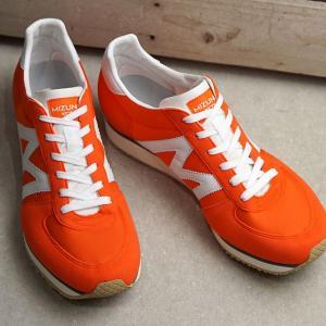 ミズノ Mライン MIZUNO M-LINE スニーカー MR1 D1GA1960-54 SS20 メンズ・レディース 日本製 ローカット 靴 オレンジ ホワイト オレンジ系 mischiefstyle