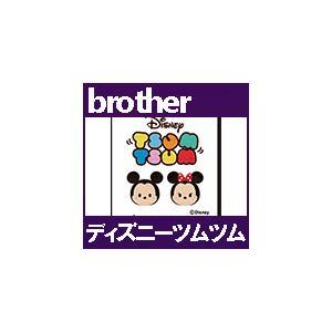 ディズニーツムツム 50模様 ECD0102 刺しゅうカード ブラザーミシン brother  刺繍カード ブラザー |mishin-net-store