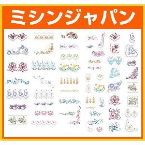 ブラザー「ボーダーコレクション(刺しゅうカード)」ECD091|mishin-shop